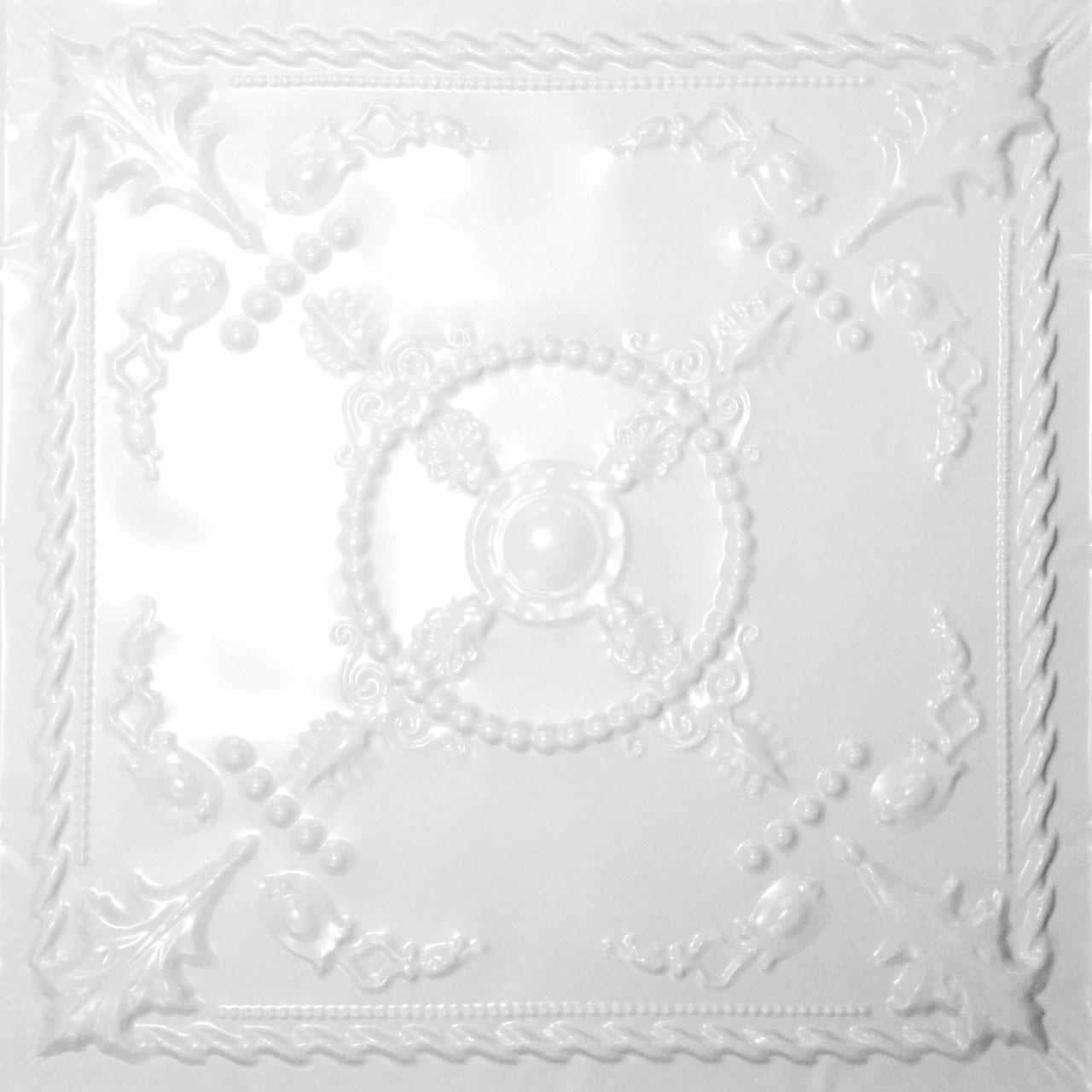 Bourbon - Tin Ceiling Tile By Shanko - #520