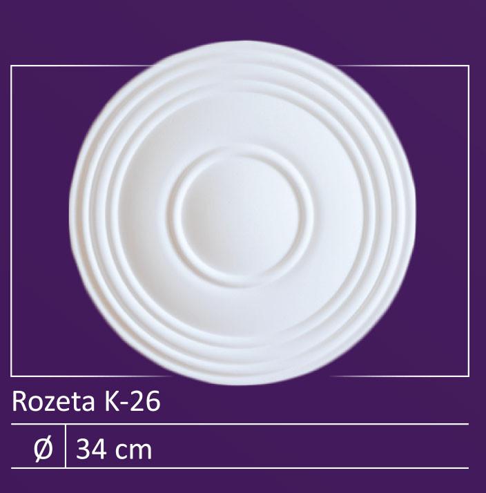 """K-26 - 13"""" Ceiling Medallion"""