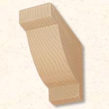 Faux Wood Corbels Doug Fir - Cash Register - 10 3/4 in. Length