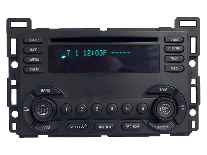 How To Enter Honda Radio Code >> UN0 04 05 06 Chevy Malibu Radio CD Player Chevrolet Stereo