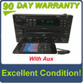 1998 - 2005 Ford Lincoln Mercury  Radio Single CD Player WITH ADDED AUX
