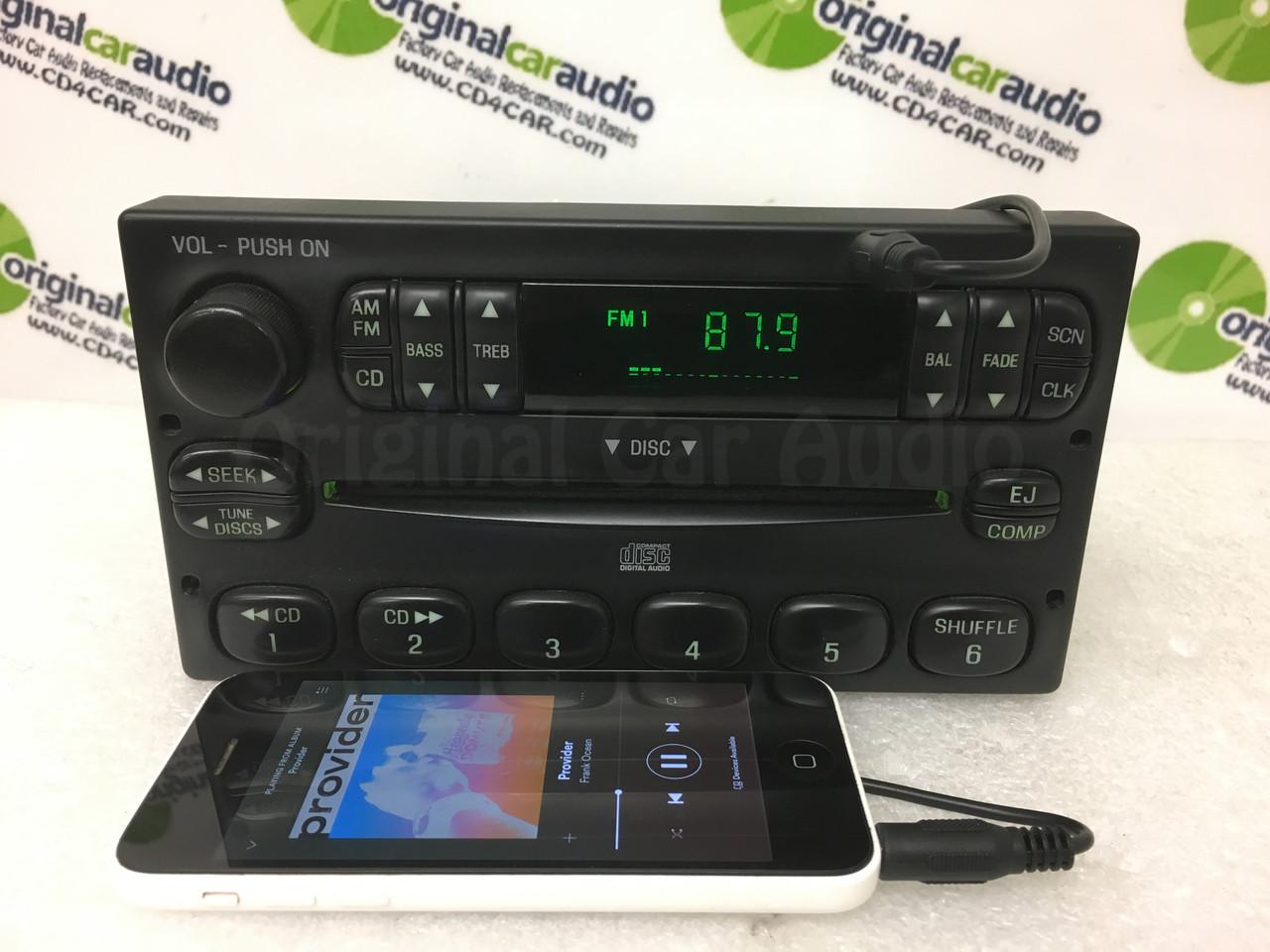 FORD AM FM Radio Stereo CD Player F150 Windstar Escape E150 ADDED ...