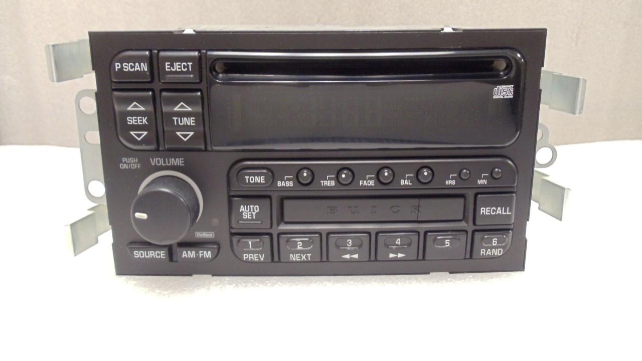 09389334 2000 01 02 Buick Lesabre Radio CD Player Stereo