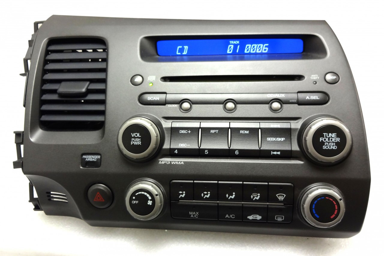 Honda Civic Radio Stereo Cd Player Mp3 2ae0 2006 2007 2008
