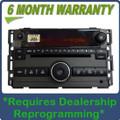 Saturn AURA Radio AUX Input CD Disc Player XM Sat OEM
