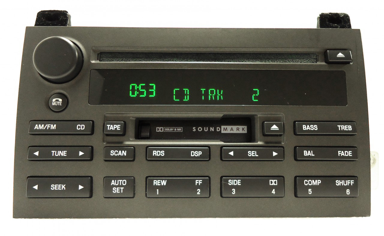 LINCOLN Town Car Radio Stereo Tape Cassette CD Player