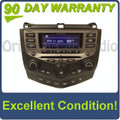 2003 - 2007 Honda Accord Radio and 6 CD  Changer Coupe 7BY2 39175-SDN-L110