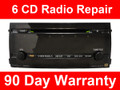 Toyota Prius 6 CD Changer Radio Repair 2004 2005 2006 2007 2008 2009