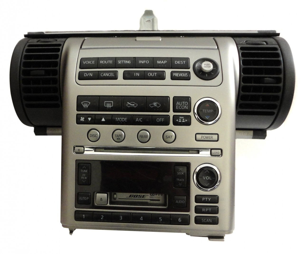 Details about 03 04 INFINITI G-35 Navigation GPS Screen BOSE Radio on