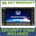 07 08 09 Honda CIVIC XM Satellite Radio NAVI GPS Disc CD Changer 2AC0