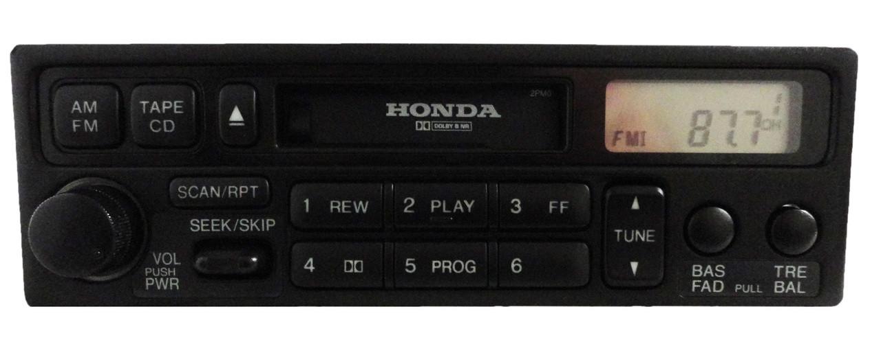 2001 Honda Accord Radio Code >> Honda Accord Civic CR-V Odyssey Prelude OEM Radio Tape Player 39100-S10-A310   eBay