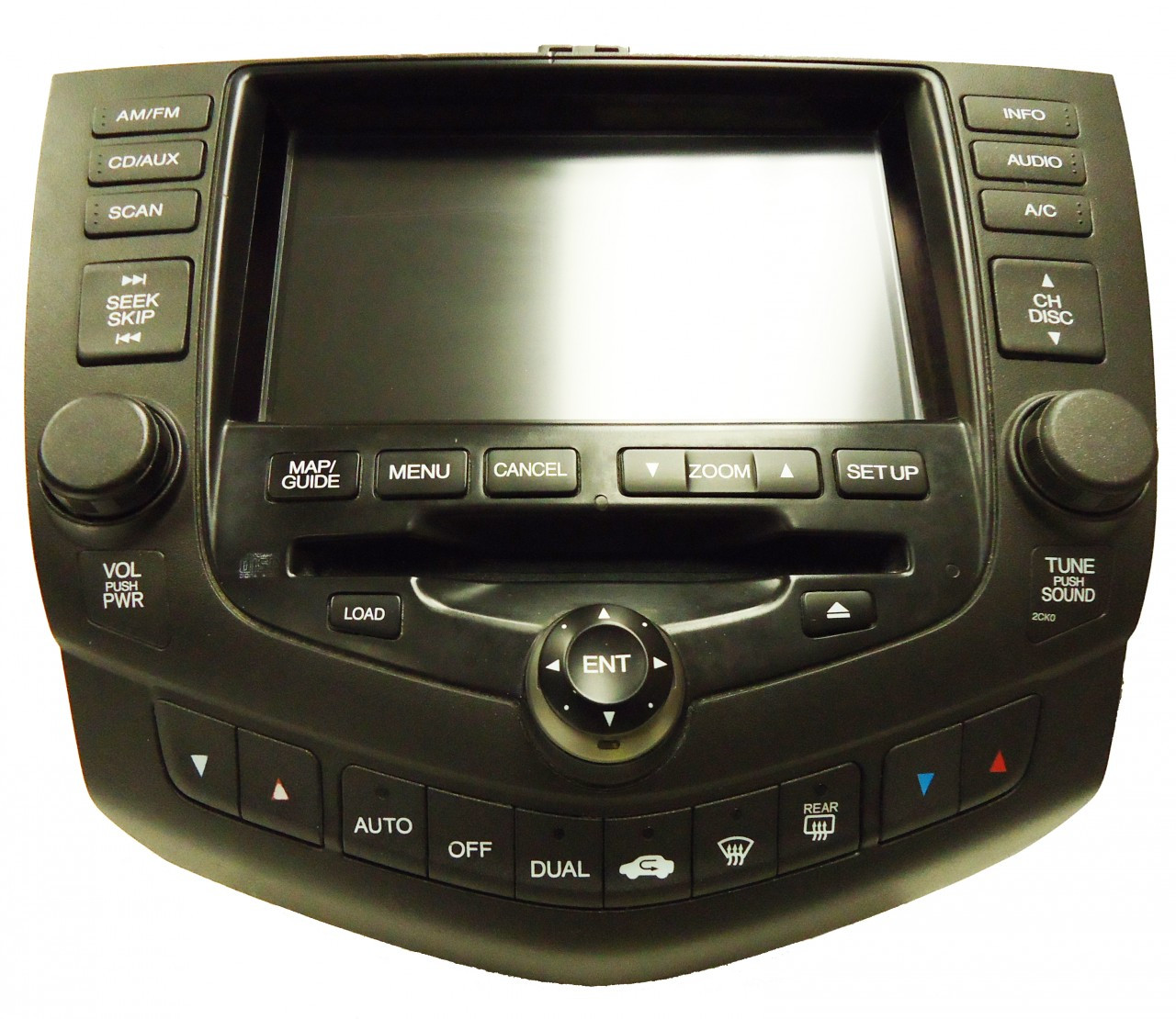 2003 honda accord navigation gps radio 6 cd changer player. Black Bedroom Furniture Sets. Home Design Ideas