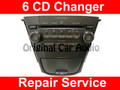 07 08 09 REPAIR YOUR ACURA MDX Radio Stereo Receiver 6 Disc Changer CD Player 2007 2008 2009