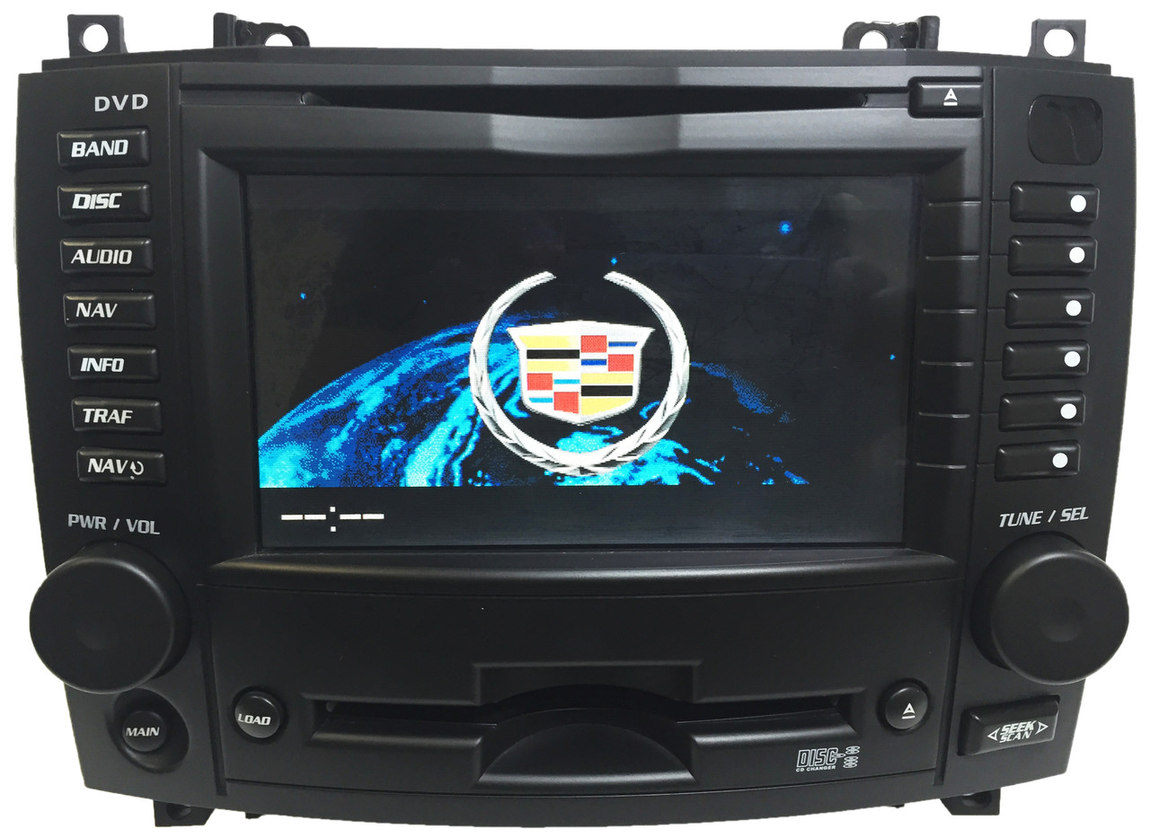 cadillac cts navigation dvd 6 cd disc player gps navi. Black Bedroom Furniture Sets. Home Design Ideas