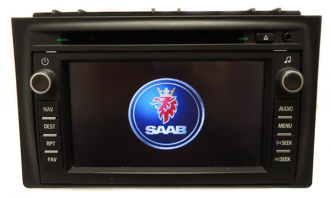 Saab Display Wiring Completed Diagrams Diagram 9 3 2007 Todays 07 08 Navigation Gps System Radio Cd