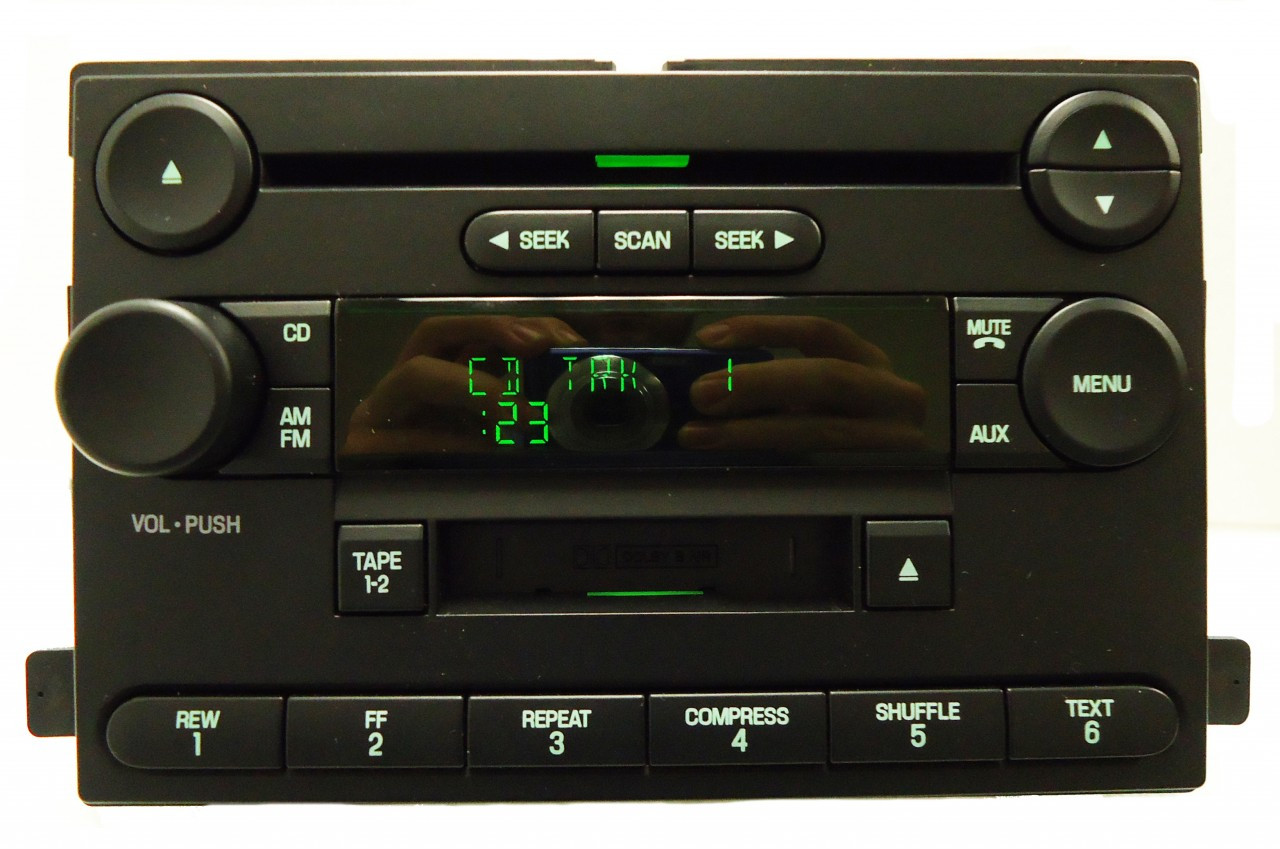 ford f250 f350 freestar focus mercury monterey radio cd. Black Bedroom Furniture Sets. Home Design Ideas