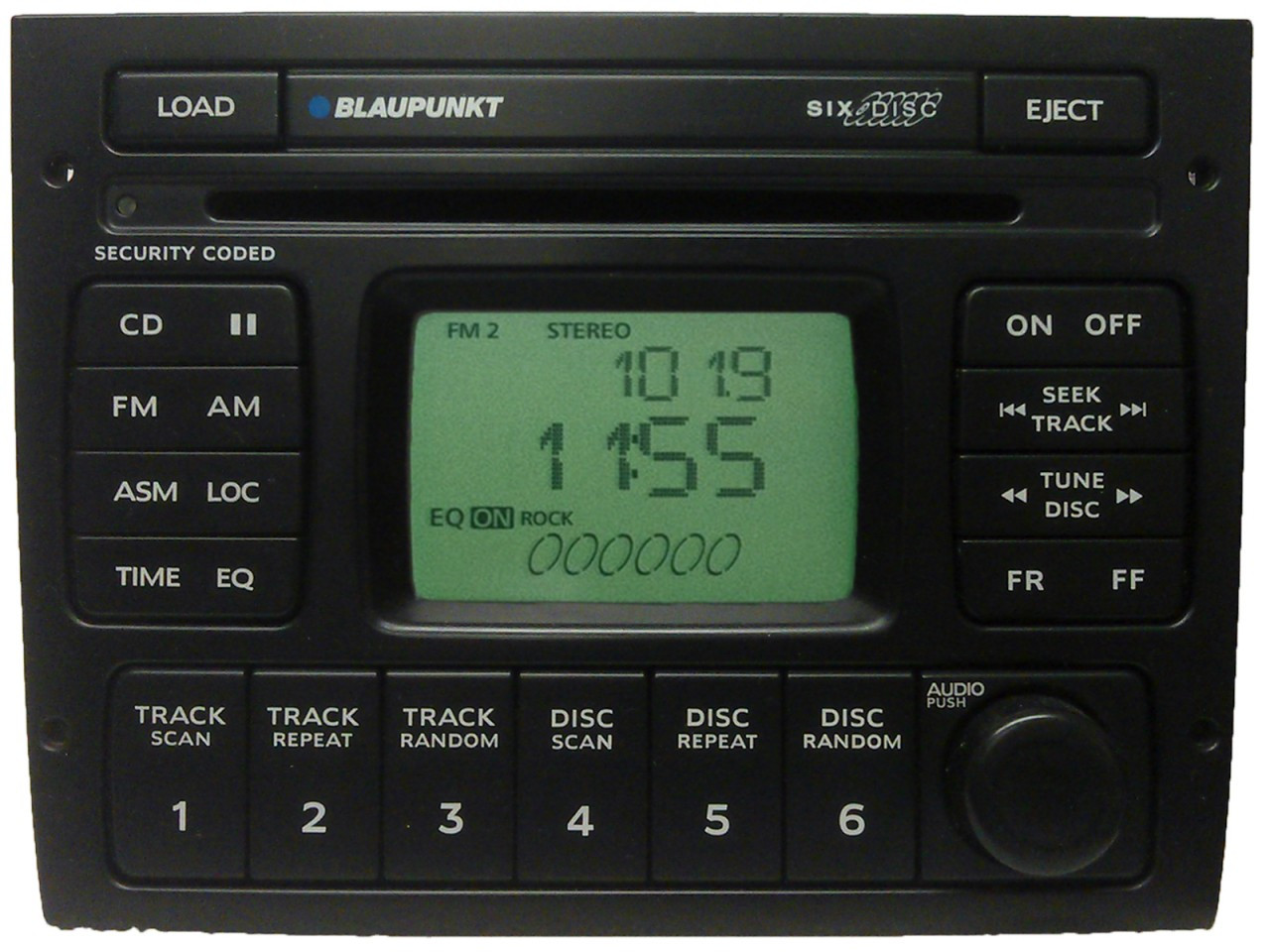 04 05 06 pontiac gto blaupunkt radio 6 disc cd changer. Black Bedroom Furniture Sets. Home Design Ideas