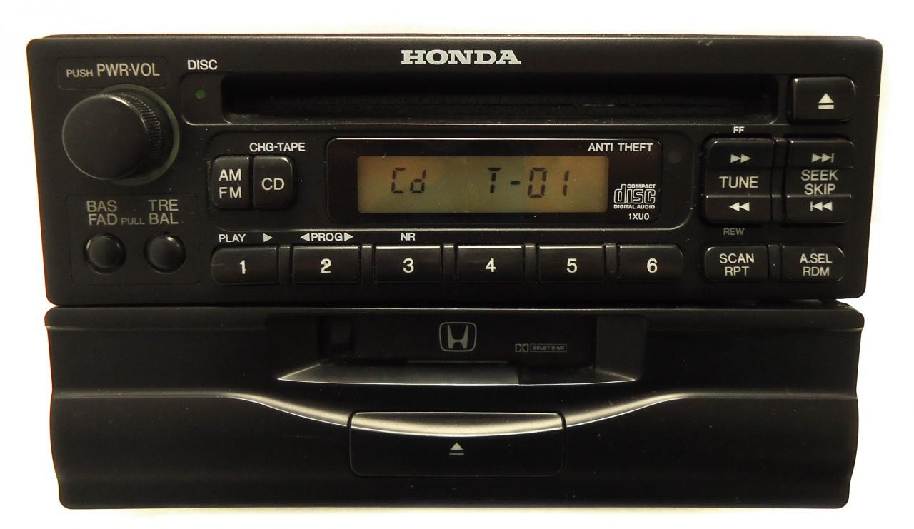 honda civic accord prelude odyssey radio cd cassette player. Black Bedroom Furniture Sets. Home Design Ideas