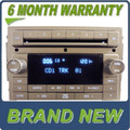 BRAND NEW 2006 2007 2008 2009 2010 LINCOLN Factory OEM Radio and 6 CD Changer Player MKZ MKX Zephyr Navigator