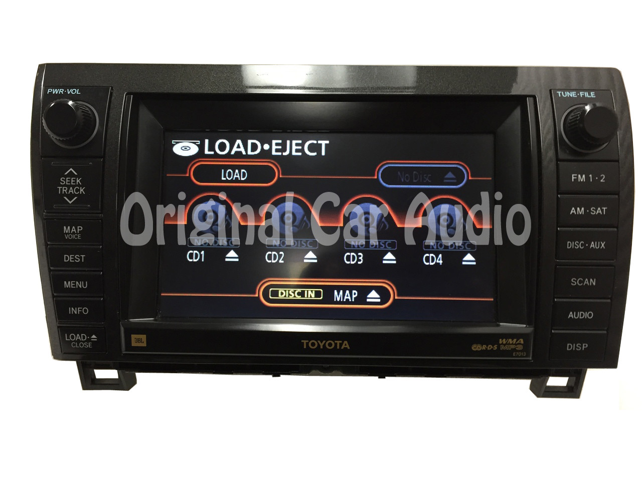 Repair Service Only Toyota Tundra Sequoia Navigation Gps Cd Player 2011 Dvd Wiring Diagram Drive Oem Ebay