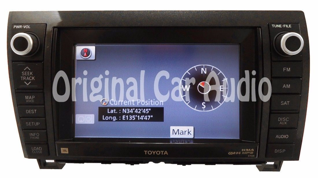 REPAIR SERVICE ONLY Toyota Tundra Sequoia Navigation GPS CD Player