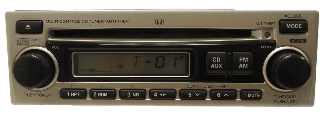 8xw0 1998 2002 honda s2000 civic radio mp3 aux cd player. Black Bedroom Furniture Sets. Home Design Ideas