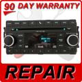 REPAIR Chrysler Jeep Dodge Radio AUX SAT MP3 DVD FIX 6 CD Changer 07 08 09 2010 2011 2012