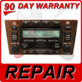 00 01 02 03 04 REPAIR FIX Toyota Avalon JBL Radio 6 Disc Changer CD Player Repair Service Fix JBL 2000 2001 2002 2003 2004