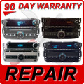 REPAIR 07 - 12 GMC Sierra Chevy Tahoe Single CD Player FIX
