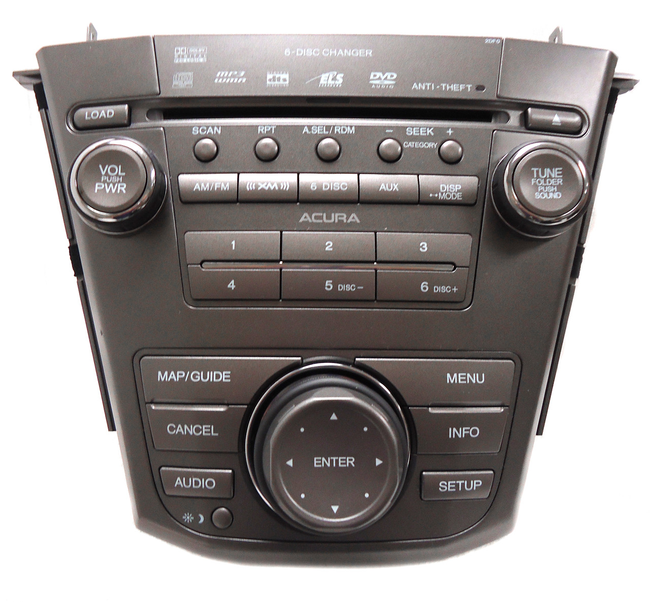 ACURA MDX REPAIR FIX Navigation Radio 6 Disc Changer CD