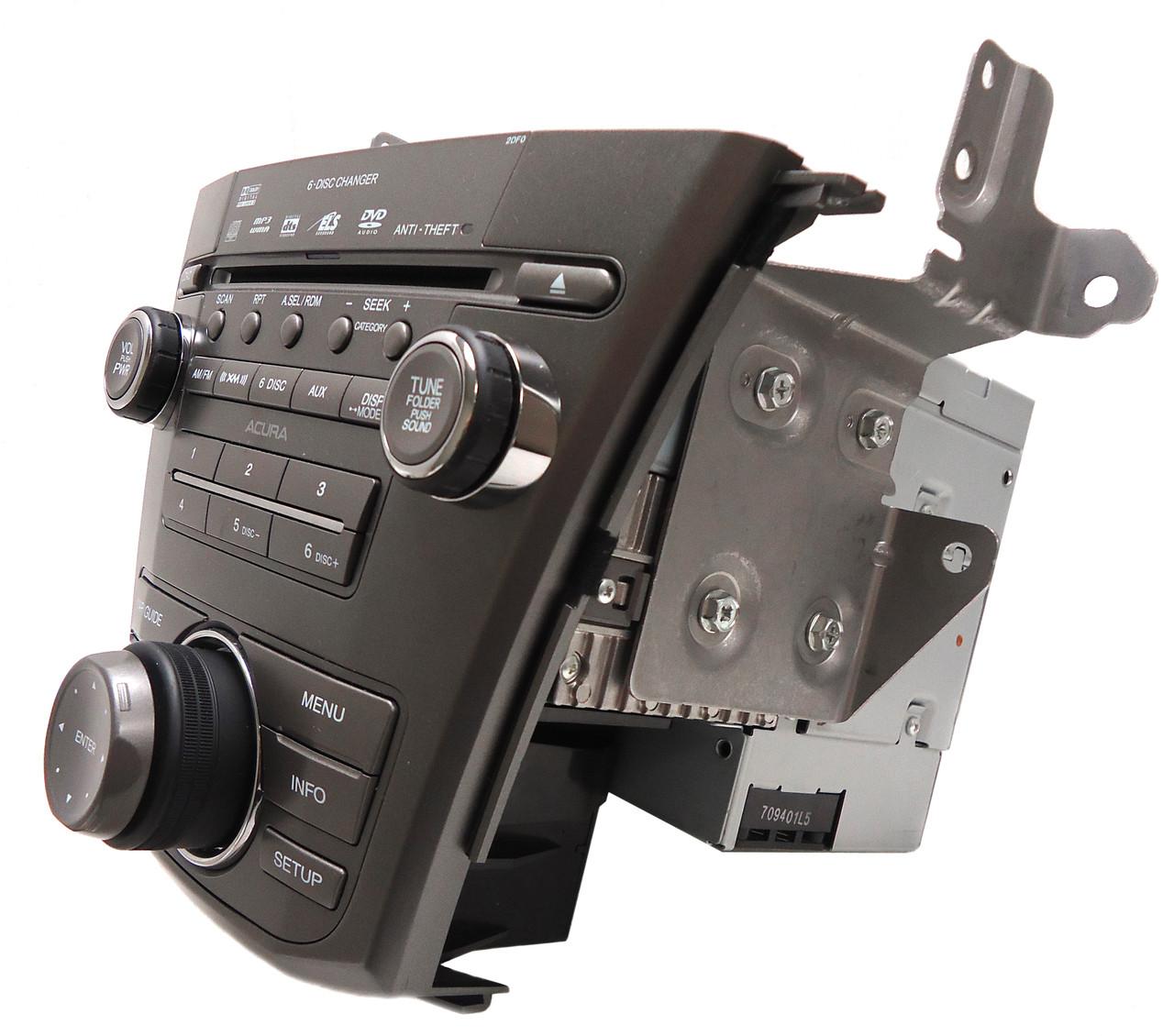 ACURA MDX Navigation GPS Radio 6 Disc CD Changer Player