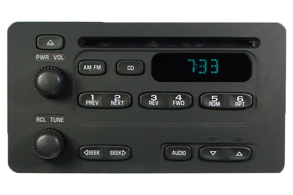 2000 01 02 chevy tracker geo metro prizm radio cd player. Black Bedroom Furniture Sets. Home Design Ideas