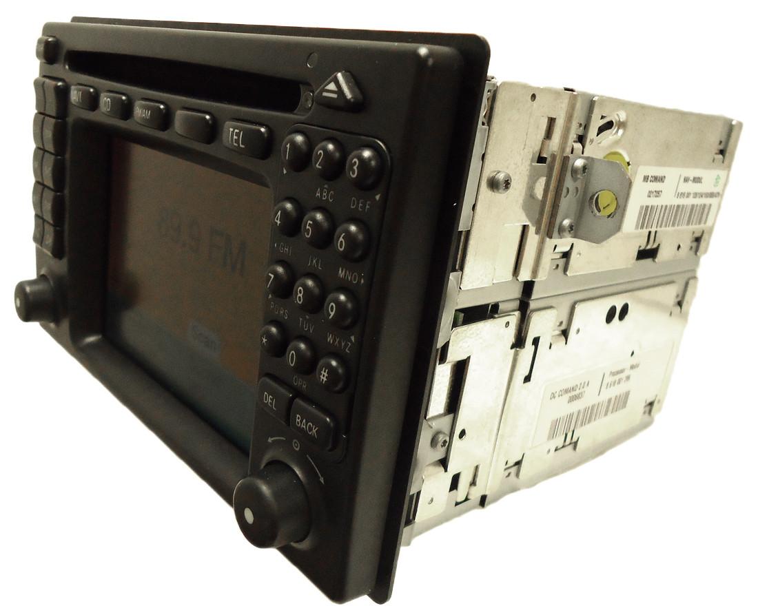 new mercedes benz comand navigation gps system radio cd. Black Bedroom Furniture Sets. Home Design Ideas