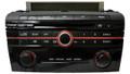 Mazda 3 Radio SAT XM MP3 CD Player Multi Function Audio System 06 07 08 09 2006 2007 2008 2009 BAR4 66 AR0 14793686