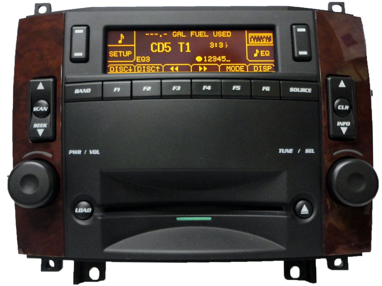 05 06 07 cadillac cts srx radio stereo 6 disc cd player. Black Bedroom Furniture Sets. Home Design Ideas