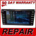 Repair Service Toyota OEM Navigation GPS CD Player DVD Drive fix