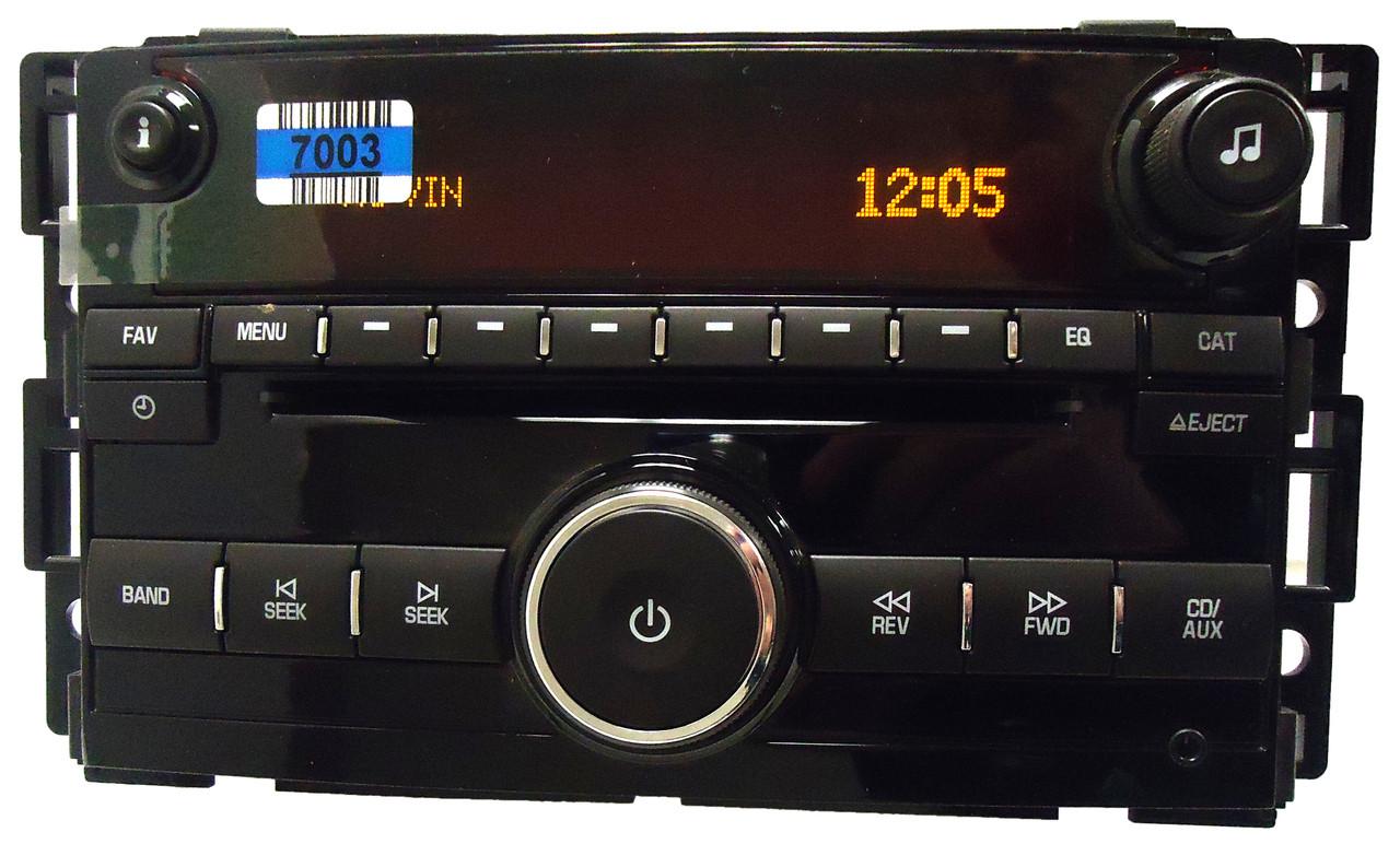 saturn am fm stereo radio cd player receiver audio oem. Black Bedroom Furniture Sets. Home Design Ideas