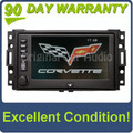Chevrolet Corvette GPS navigation touch screen display system