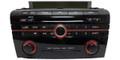 Mazda 3 Radio SAT XM CD Player Multi Function Audio System 06 07 08 09 2006 2007 2008 2009 BAS4 66 ARX 14793778