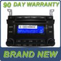 NEW HYUNDAI Veracruz Infinity Radio Stereo 6 Disc Changer MP3 CD Player XM Satellite 2009 2010 2011 2012 961303J250