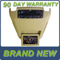 NEW 02 03 04 05 06 Ford Expedition Lincoln Navigator Mercury DVD Player Overhead Screen TAN