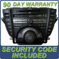 09 10 11 Acura TL Radio XM Navigation Radio Aux CD Player HDD DVD