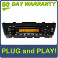00 01 02 03 04 05 06 Nissan Sentra OEM AM FM Radio Stereo Single CD Player AUX Remote Changer Controls 7 Speaker 180 Watt System