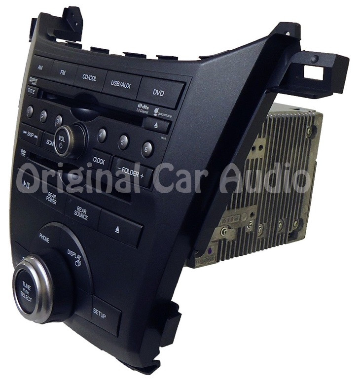 Honda Odyssey Oem Radio Stereo Aux Usb Dvd Cd Player 1xu5
