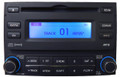 09 10 Hyundai ELANTRA Radio XM Satellite MP3 CD Player Black