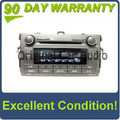 11 12 TOYOTA Corolla Radio Stereo MP3/WMA CD Player Factory OEM A518AH 86120-02D20 2011 2012