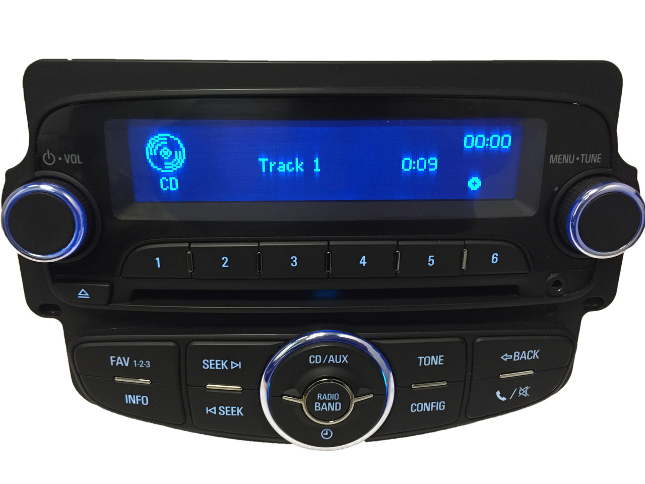 Details about Chevy SONIC OEM Radio Stereo AM FM AUX XM MP3 USB CD Player  UH7 Wireless Phone