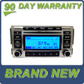 BRAND NEW HYUNDAI Santa Fe Radio Stereo 6 Disc Changer MP3 CD Player XM Satelite Radio Bluetooth 2009 2010 2011 2012