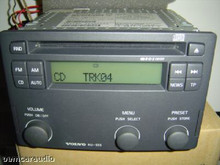 Hu555 01 04 Volvo S60 V70 Cd Player Radio Stereo Tape Player