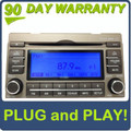 08 09 10 11 Hyundai Azera Single CD MP3 Player XM Radio 2008 2009 2010 2011 GOLD